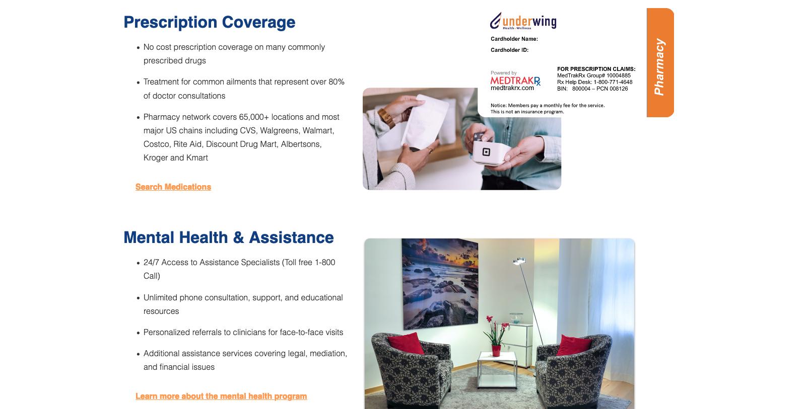 Grubhub home prescription coverage desktop