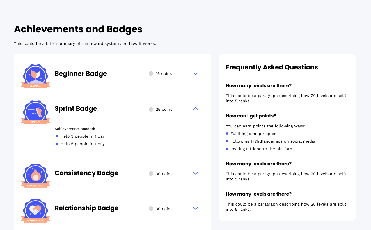 DoinGud badges desktop